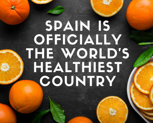 Spain is officially the world's healthiest country